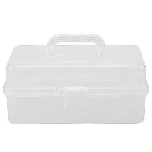 Estuches de almacenamiento, plegables de tres capas Caja de almacenamiento Herramienta Multiuso Organizador Estuche de...