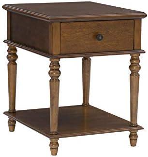Powell Hazelnut Modern Classic Side Vivian Table