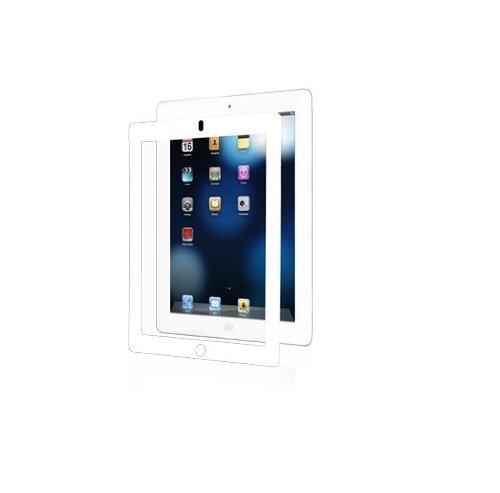 Moshi iVisor Screen Protector AG Anti-Glare/Matte for The New iPad / iPad 2 3 - White (Newest Model) (Moshi Ipad Air 2)