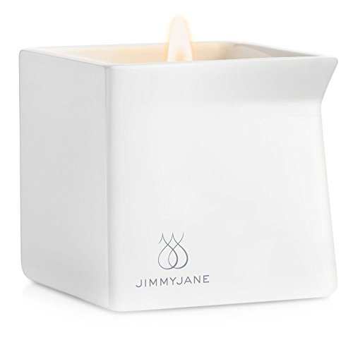 Jimmyjane Afterglow Natural Massage Oil Candle, Pink Lotus,4.5oz(127g)