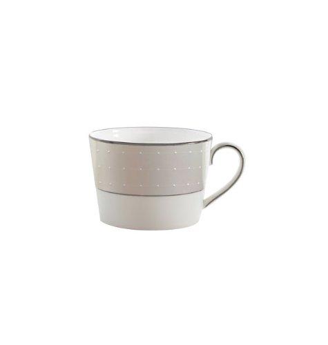 Waterford China Espresso Cups - Etoile Platinum 8 oz. Teacup