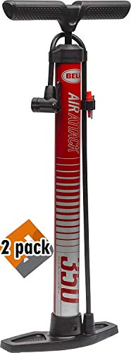 Bell Air Attack 350 High Volume Bicycle Pump (2 Pack) ()