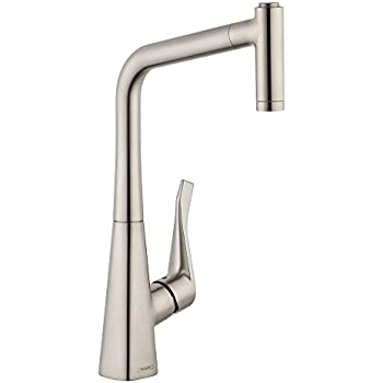 Hansgrohe 14820801 Metris Higharc Kitchen Faucet With Pull