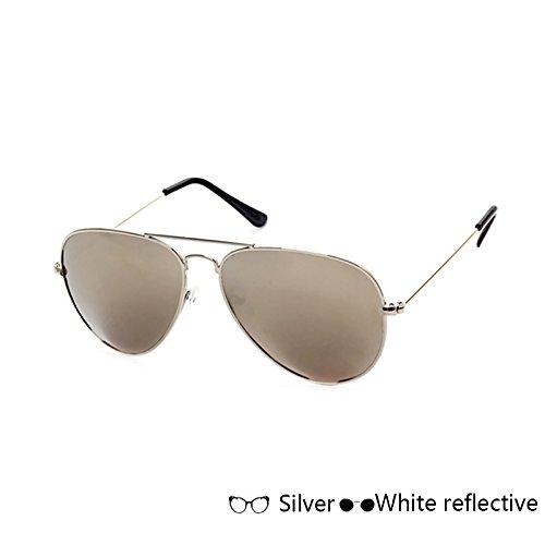 gafas sol para hembra B Señoras Sun macho de polarizadas D ZHANGYUSEN Gafas hombres Ray Vintage Mujer UV400 Unisex Retro qXwz0YwEU