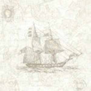 FD21243 - Oxford Explorer Travel Ships Tan Wallpaper by Fine Decor