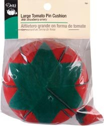 Bulk Buy: Dritz Large Tomato Pin Cushion With Emery Strawberry 731 ()