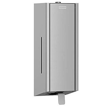 Franke – Dispensador de jabón exos. disponible en 3 modelos diferentes, Front Edelstahl seidenmatt