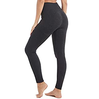 Aoxjox Yoga Pants for Women High Waisted Gym Sport Ombre Seamless Leggings