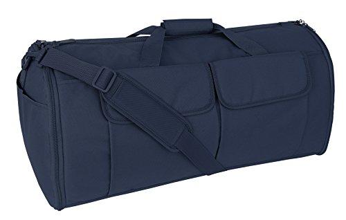 Mercury Tactical Gear Code Alpha Hybrid Garment Duffel Bag, Basic, Navy Blue