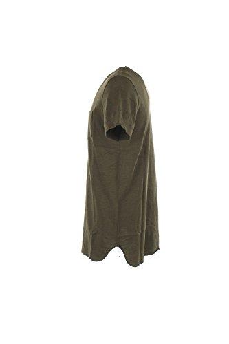 nbsp;wytee0421 Uomo Mezza Manica Regular rich Verde Taschino Shirt Woolrich Scuro By Penn 4RqFZp