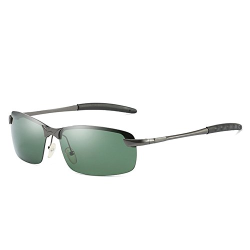 conducción 2018 gafafs Black Hombres Gafas de de de de de Gris de polarizadas Regalo Black de Novedad Adorno Gafas Lens Frame Tipo Sol Gafas Moda para Gafas Verde Gray x6rt6qwBU