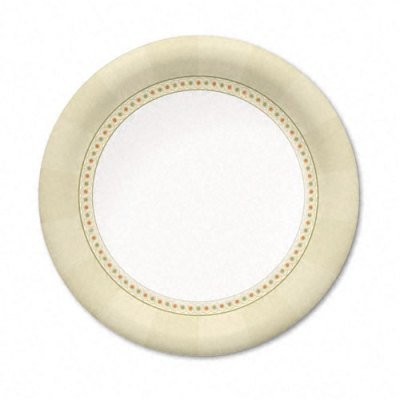 Sage Collection Mediumweight Paper Plates, 7 Diameter, 125/Pack (DXEUX7SAGE) by Dixie Dixie Sage Collection