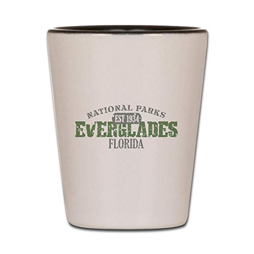 CafePress Everglades National Park FL Shot Glass, Unique and Funny Shot Glass]()