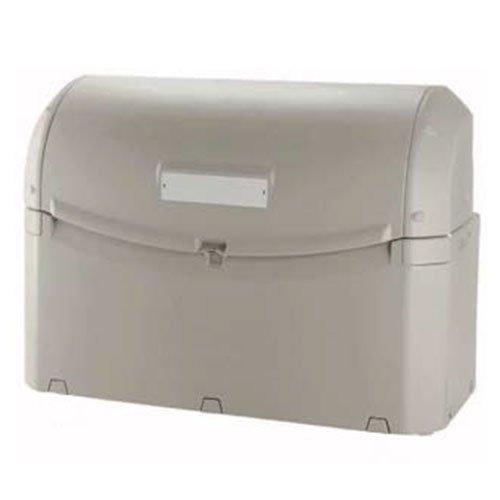 業務用 大型ゴミ箱 ワイドペールST 1000 キャスター無し 収納目安:45リットルポリ袋22個 リッチェル B01NAYFGN9