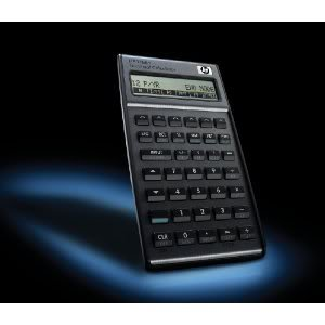 HP 17BII+ Financial Calculator, Silver Financd Scientific Finance Calulator HP-17-B-II+ Best Virtual Caculator Pocket PC