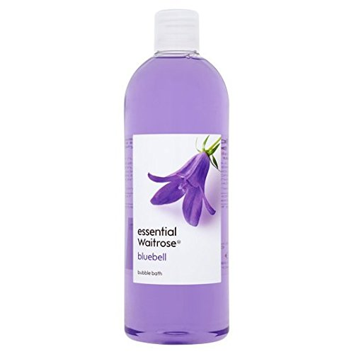 Essential Waitrose Bubble Bath Bluebell 750ml