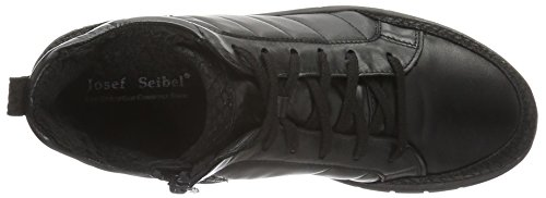 negro Negro de para Zapatillas 21 Estar por Josef Seibel Steffi Mujer Casa xIqWvP