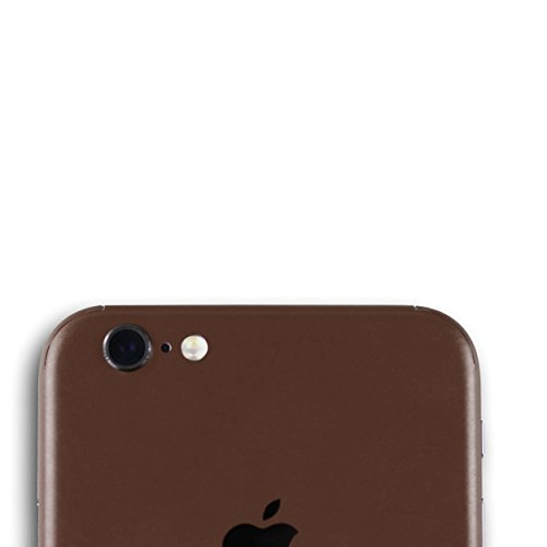 AppSkins Rückseite iPhone 6s Full Cover - Color Edition brown