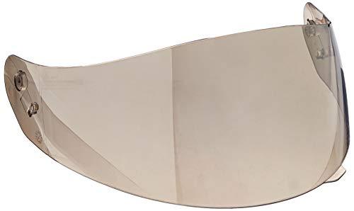 HJC Helmets HJ-17 Unisex-Adult Flip-Up-Helmet-Style Replacement Helmet Face Shield (Silver,One Size) ()