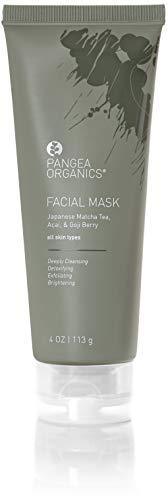 Pangea Organics Facial Mask - Japanese Matcha Tea, Acai, Goji Berry (Pangea Organics Organic Soap)
