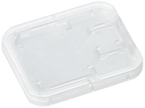 Uxcell a16011100ux0244Voltaje de plástico Micro TF SD Tarjeta de memoria de almacenamiento caso caja titular 7pcs Claro,