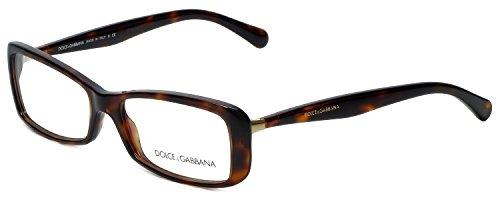 Dolce & Gabbana DG3139 Sensual&Feminine Eyeglasses-2587 Havana-54mm
