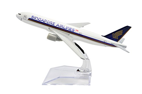 Tang Dynasty Tm  B777 Singapore Airlines Metal Airplane Model Plane Toy Plane Model