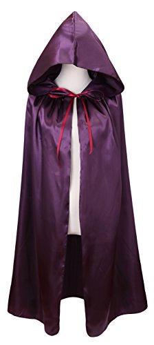 VGLOOK Kids Halloween Costumes Christmas Cloak with Hood Ages 8 to16 -