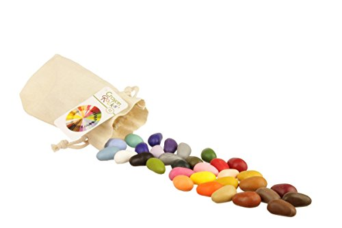 Crayon Rocks 32 Colors in Muslin Bag (64 Pack Of Crayons In Color Order)