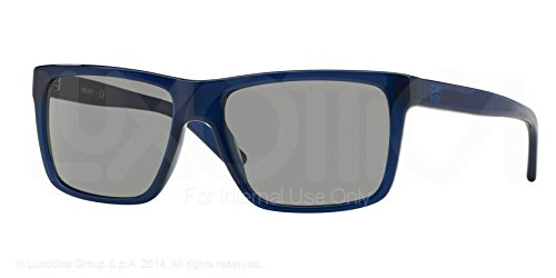 DKNY 4119 364487 Blue 4119 Wayfarer Sunglasses Lens Category - Dkny Mens Sunglasses