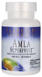 Amla Superfruit 500mg Planetary Herbals 60 Tabs by Planetary Herbals