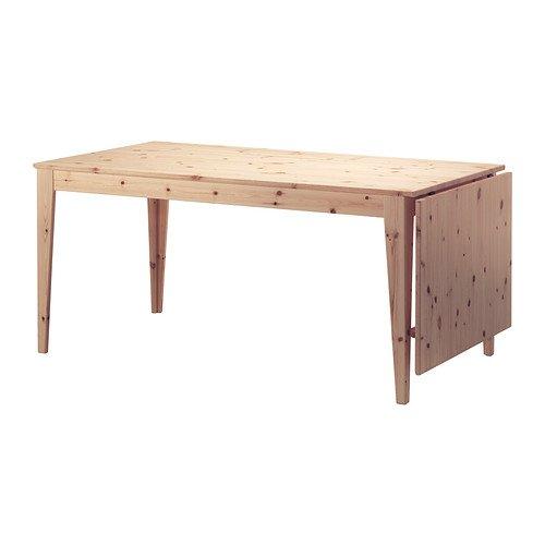 Ikea 826.262626.1822 Mesa de Hoja, Pino: Amazon.es: Juguetes ...