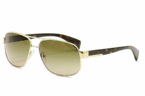 (Prada Sunglasses - PR52PS / Frame: Pale Gold Lens: Grey Gradient)