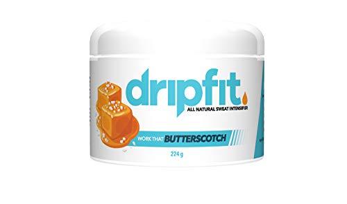 - Drip Fit® Cream (8oz) - 100% Natural Sweat Intensifier (Butterscotch)
