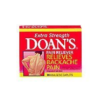 Doans extra strength pain reliever caplets - 24 ea by Doans