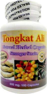 Premium Tongkat Natural Vegetarian Capsules