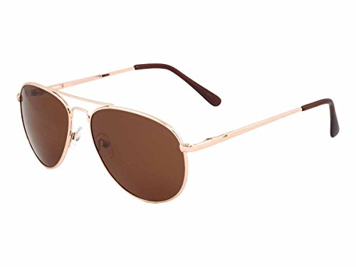 UV3+ Sunglasses- Mens Polarized Classic Aviator - Uv3 Sunglasses