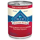 Blue Buffalo Canned Dog Food, Fish and Sweet Potato Recipe, (Pack of 12 12.5-Ounce Cans), My Pet Supplies