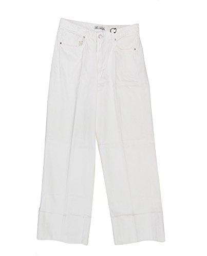 Zara Women Wide-Leg Jeans 5520/809 (42 EU) White Wide Leg Jeans