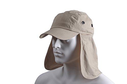 con Basic de nuca tipo protector legionario Gorra Nature naturaleza wHwWag