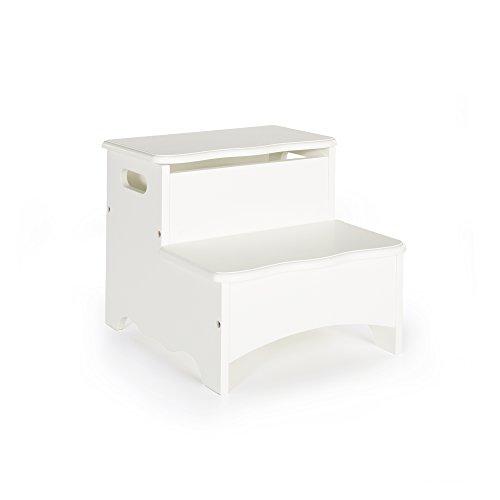 hite Step-Up - Toy Storage Stool Kids Furniture (Childrens Storage Step)