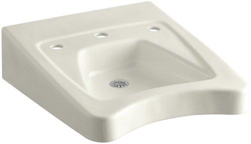KOHLER K-12634-96 Morningside Wheelchair Bathroom Sink with 11-1/2