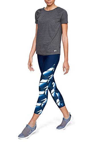 Donna Tb Seamless Spacedye Ss Top A Manica Corta Under Armour