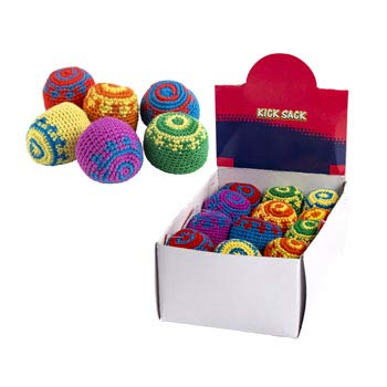 DollarItemDirect KICKSACK 5IN 6ASST Colors in 24PC PDQ/EA with HANGTAG, Case Pack of 48