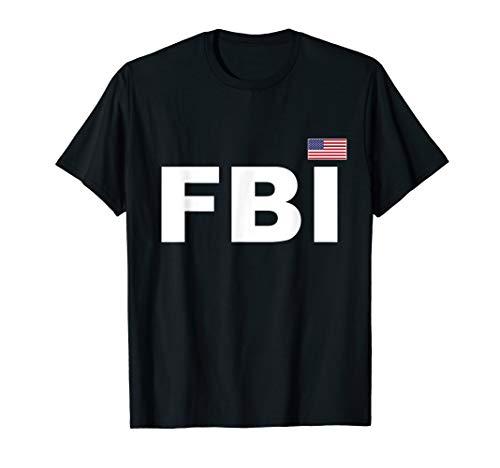 FBI T-Shirt Cool Guard Uniform Law Enforcement Top Tee