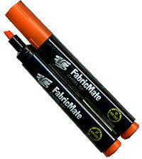 FabricMate Chisel Tip Fabric Marker, Orange