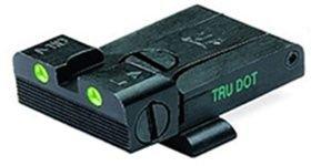 (Meprolight Glock Tru-Dot Adjustable Night Sight - 9mm.357 Sig.45 S&W & .45 Gap - Rear Sight)