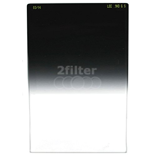 Lee Filters 4 x 6'' Graduated Neutral Density 0.9 Soft Resin Filter by Lee Filters
