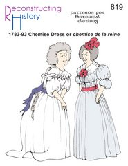 1780s dress - 1