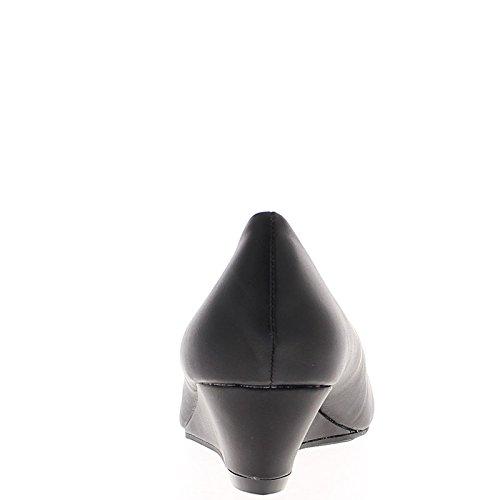 Tacón negro mate offset 9cm y bandeja redonda consejos